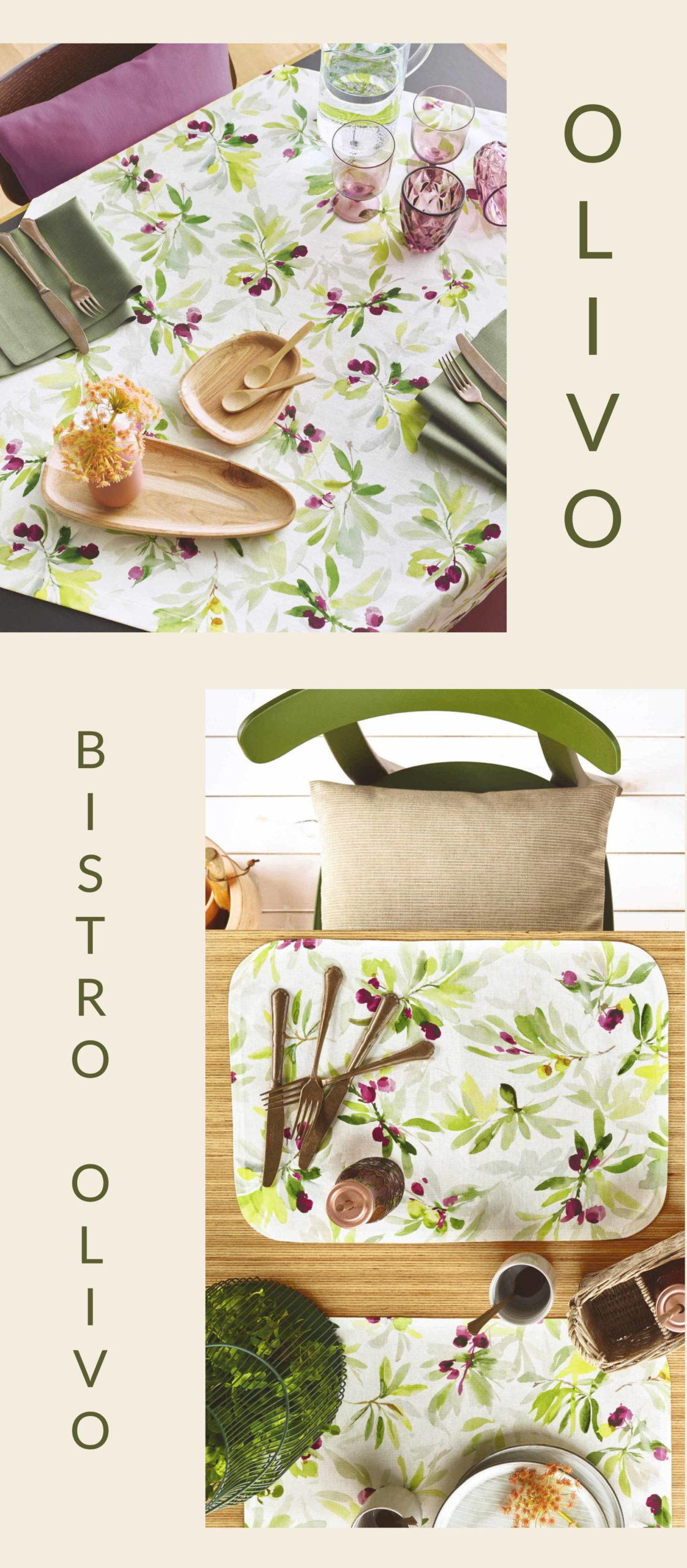 Tischdecken und Tischsets OLIVO von Sander