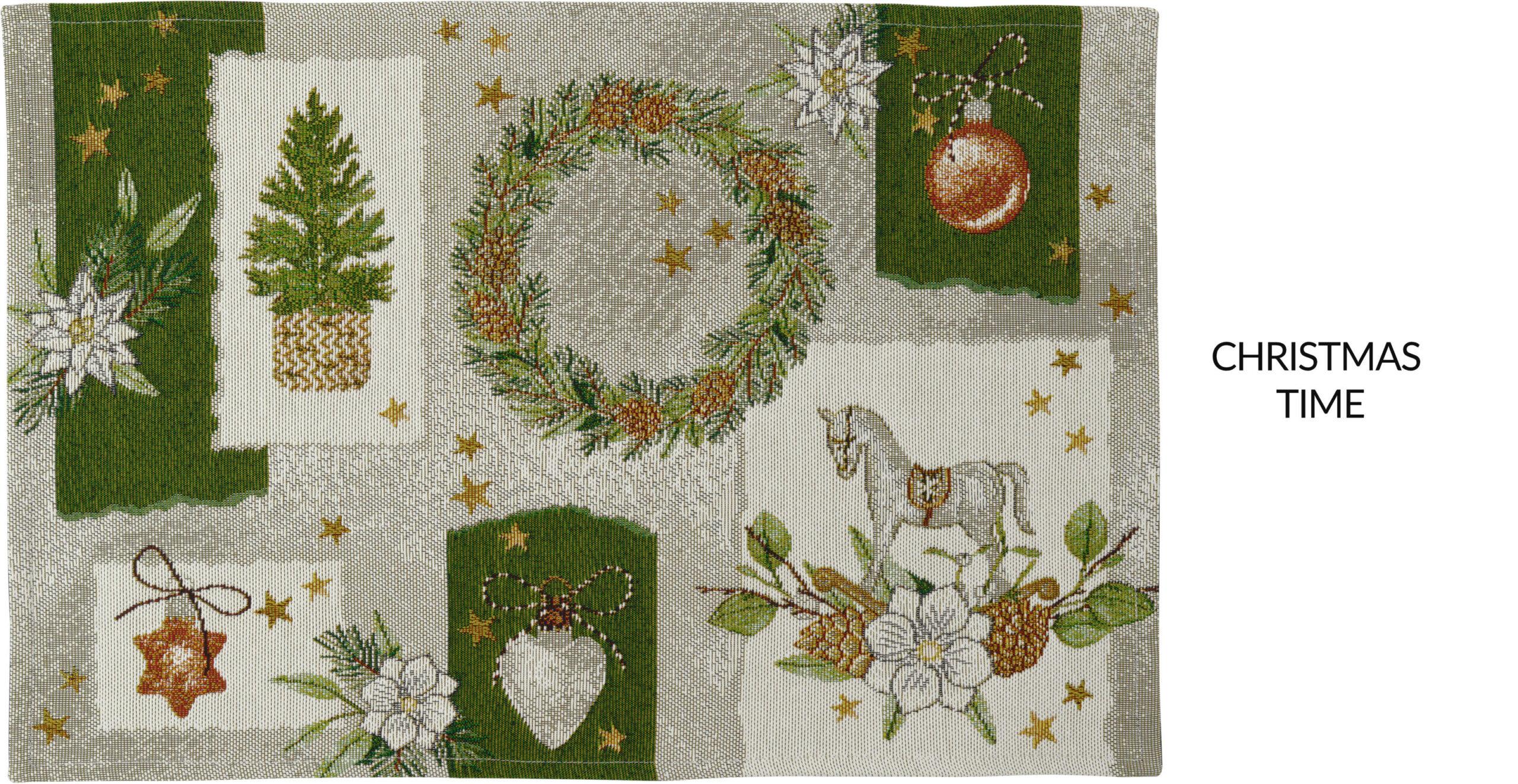 Platzdeckchen Weihnachten von Sander Tischwäsche