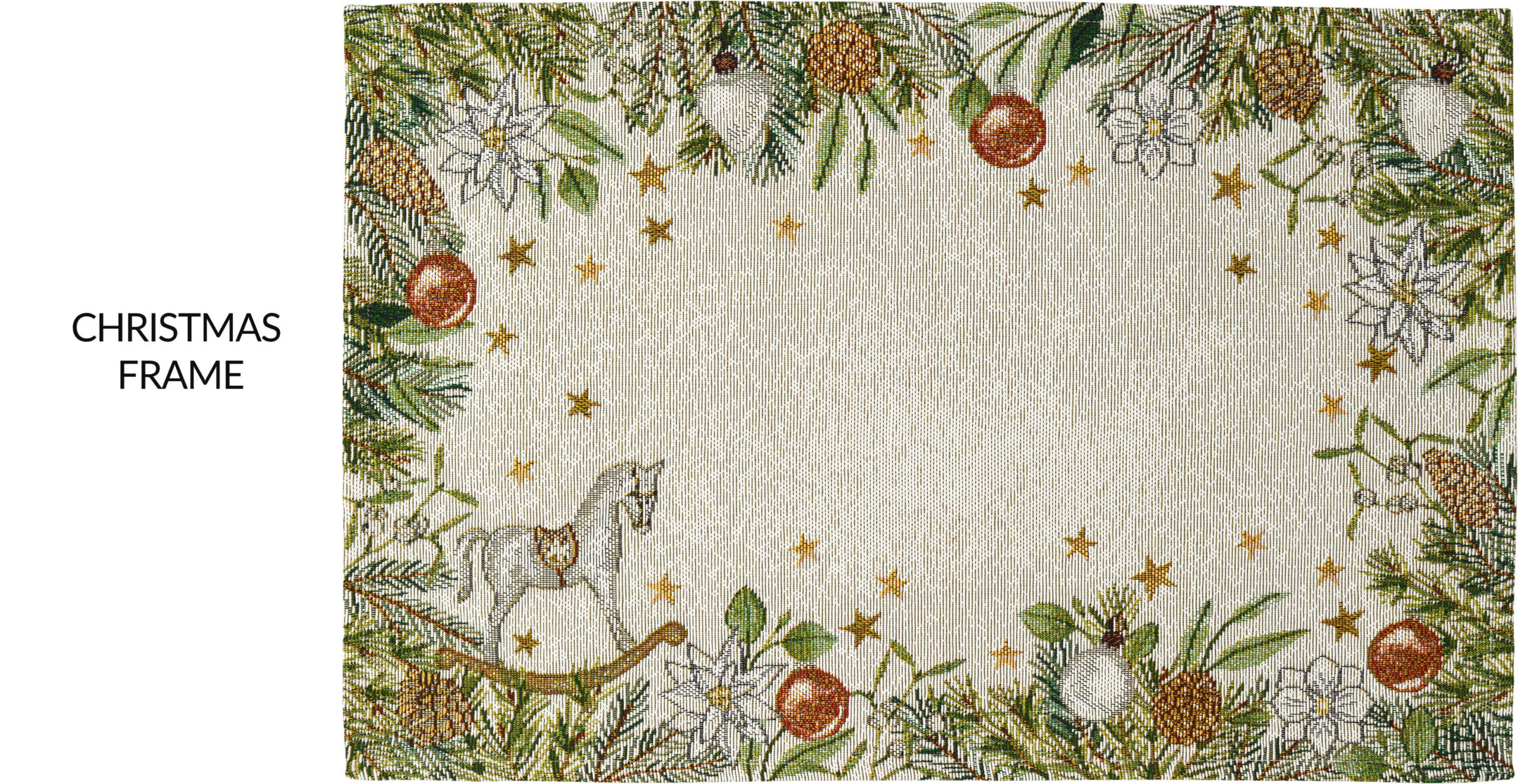 Weihnachtliche Tischsets Gobelin von Sander