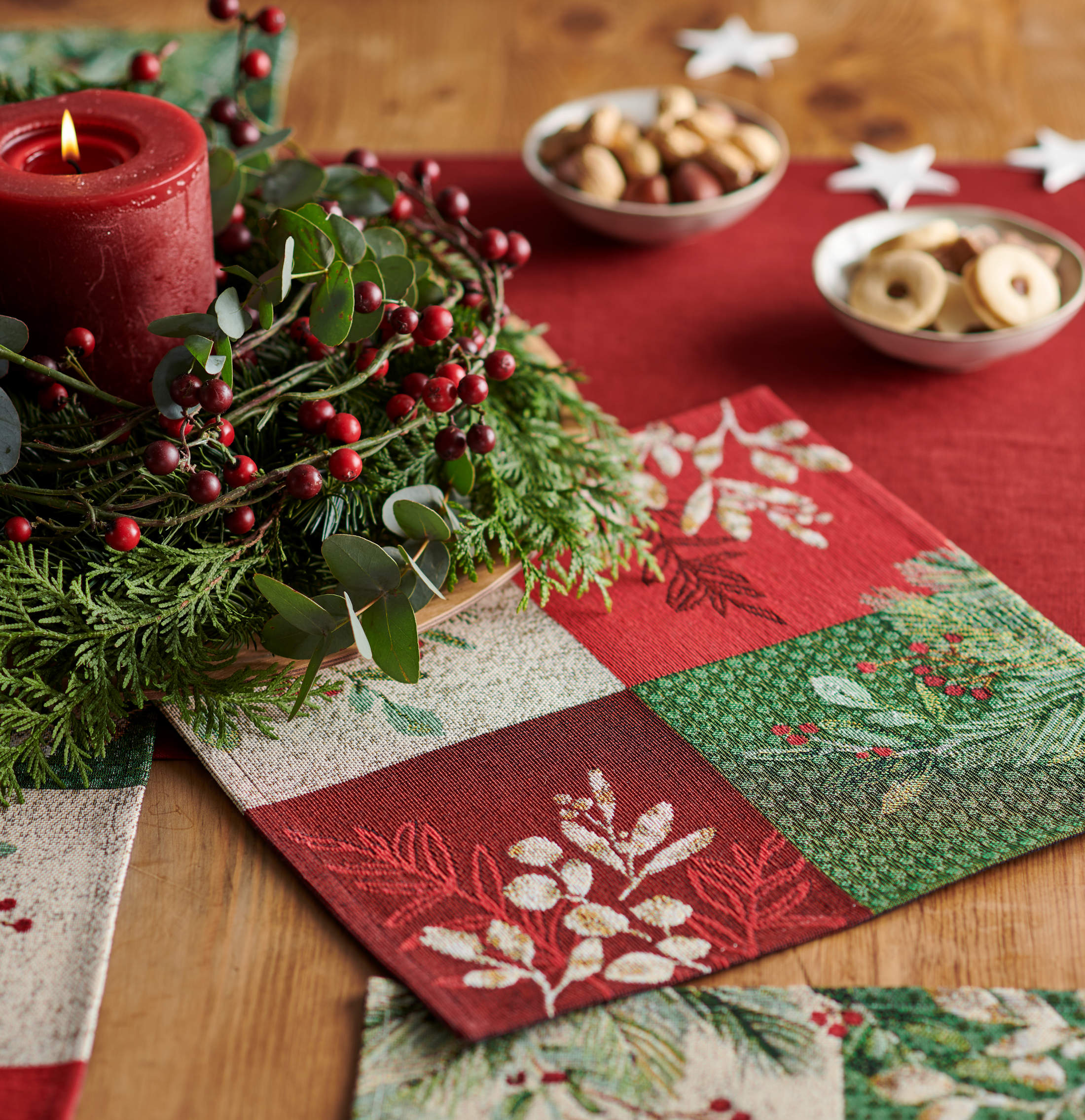 Tischsets Weihnachten Sander Tischwäsche