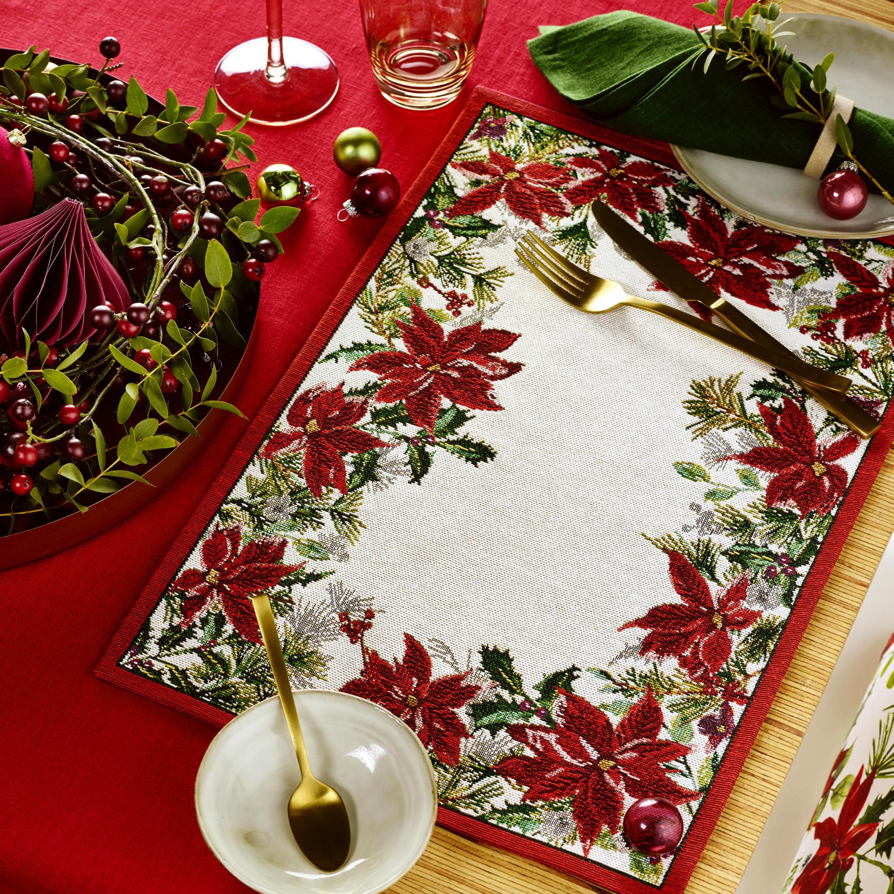 Sander Gobelin Tischset Weihnachten