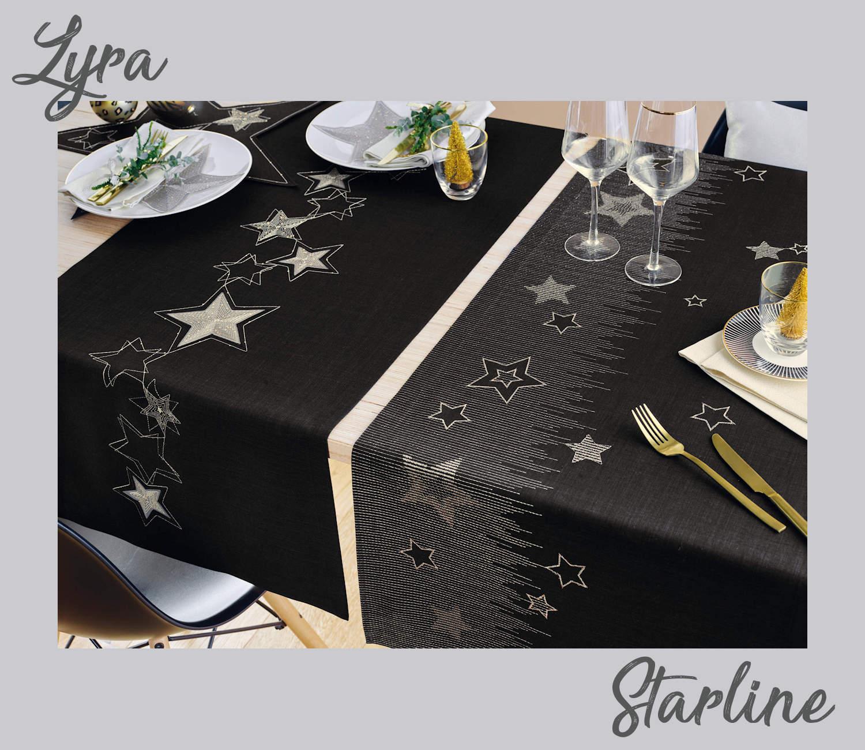 Festliche Tischwäsche Fleckschutz Sander Weihnachten